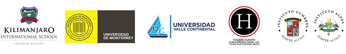 Kilimanjaro, Universidad de Monterrey, Universidad Valle Continental, Colegio Alemán, Instituto Cumbres, Instituto Alpes