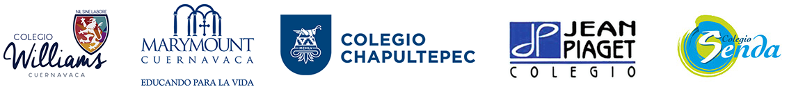 Colegio Williams, Marymount Cuernavaca, Colegio Chapultepec, Jean Piaget, Colegio Senda
